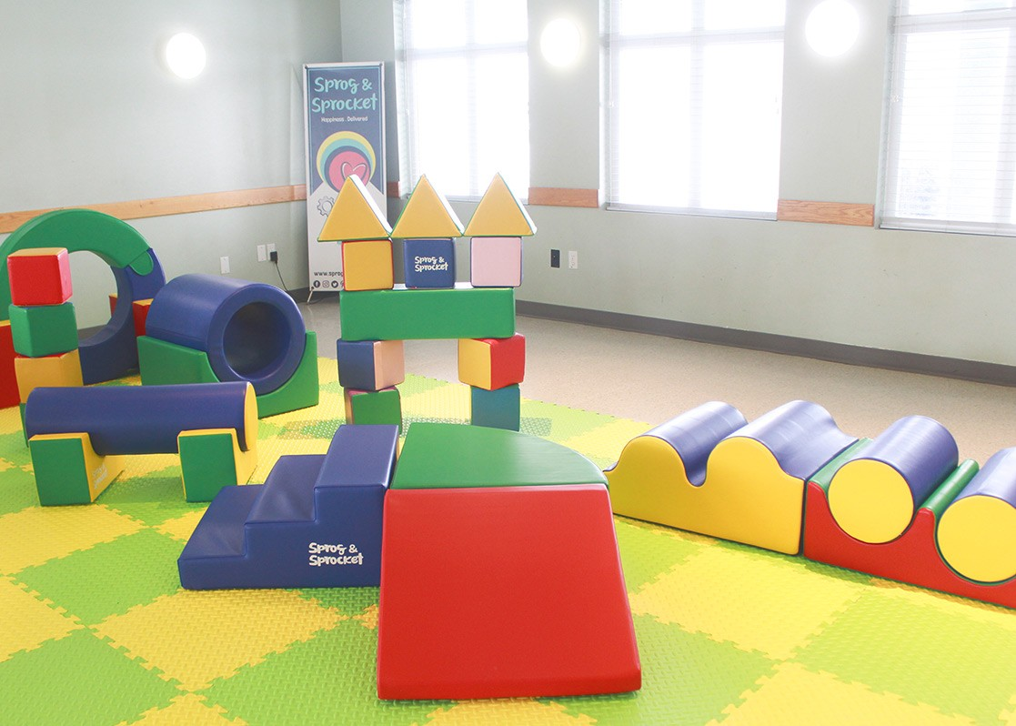Lil Rollers Soft Play Party Rental. Pick Up Package. 6 Soft Play Obstacles.