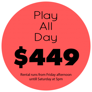 Play All Day Price $449