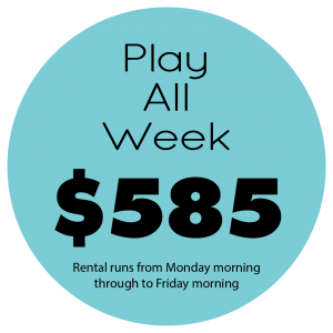 Play All Week Price $585
